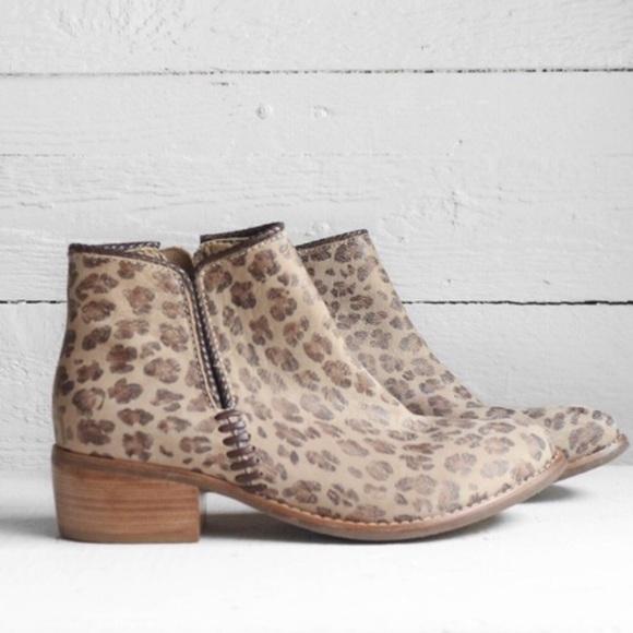 Matisse Shoes | Matisse Leopard Bootie